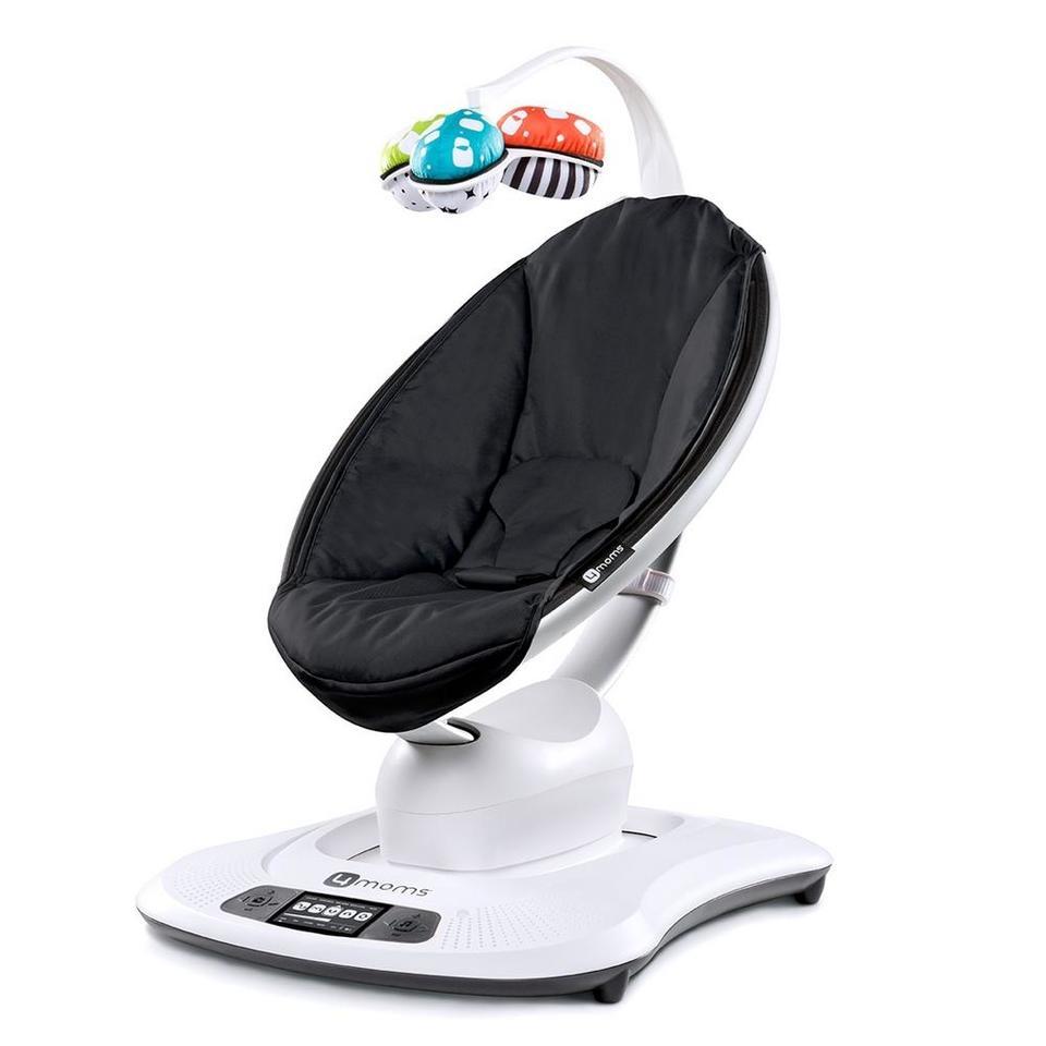 Cadeira de Descanso Mamaroo 3.0 Classic Black - 4 Moms